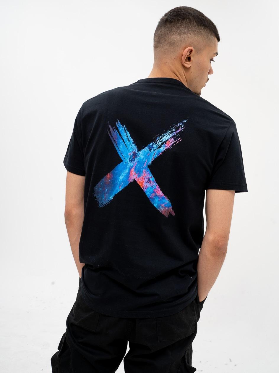 Koszulka Z Krótkim Rękawem Point X Astro Czarna