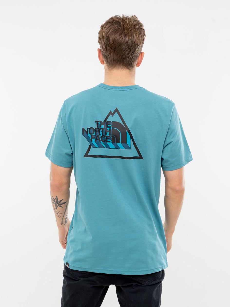 Koszulka Z Krótkim Rękawem The North Face 3yama Storm Niebieska