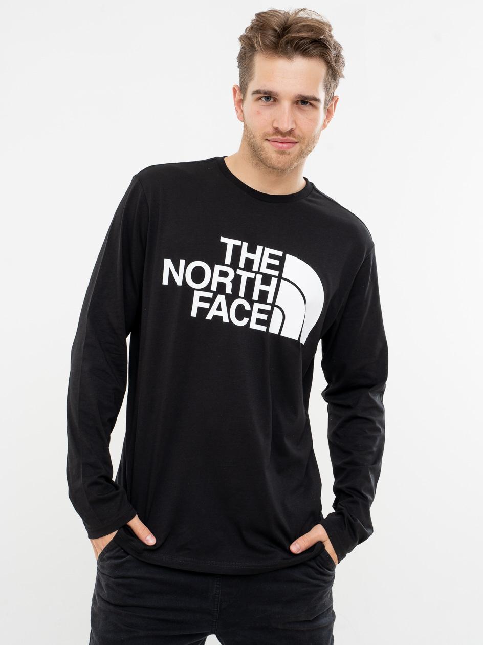Koszulka Z Długim Rękawem The North Face Standard Czarna