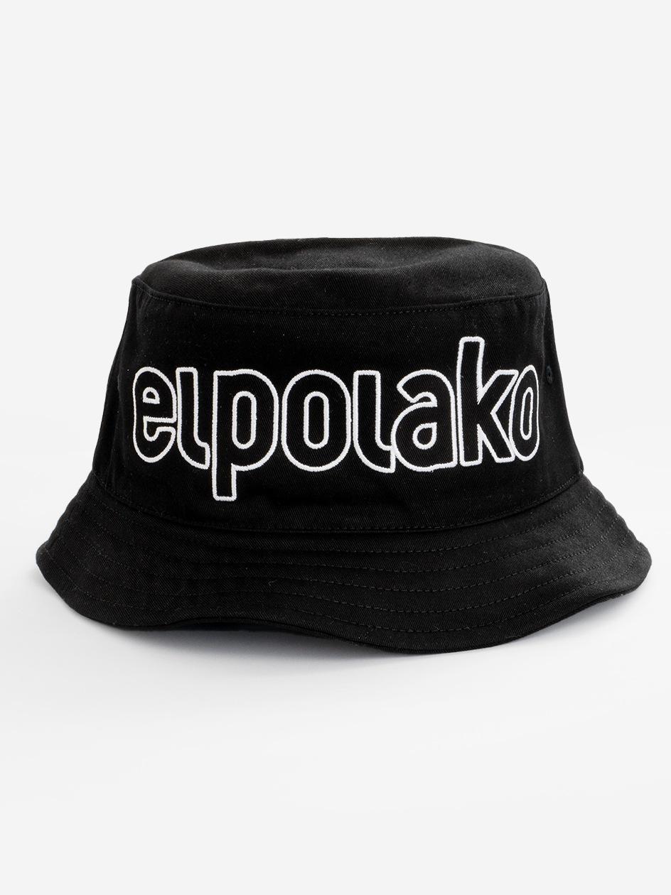 Bucket Hat El Polako Outline Czarny