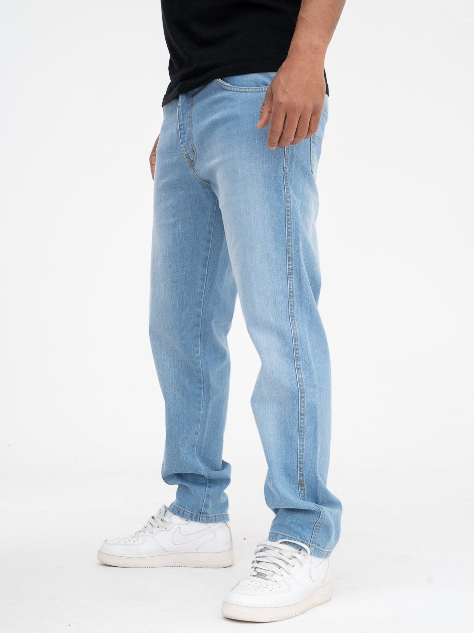 Spodnie Jeansowe Outsidewear Stripe 2.0 Jasne Niebieskie