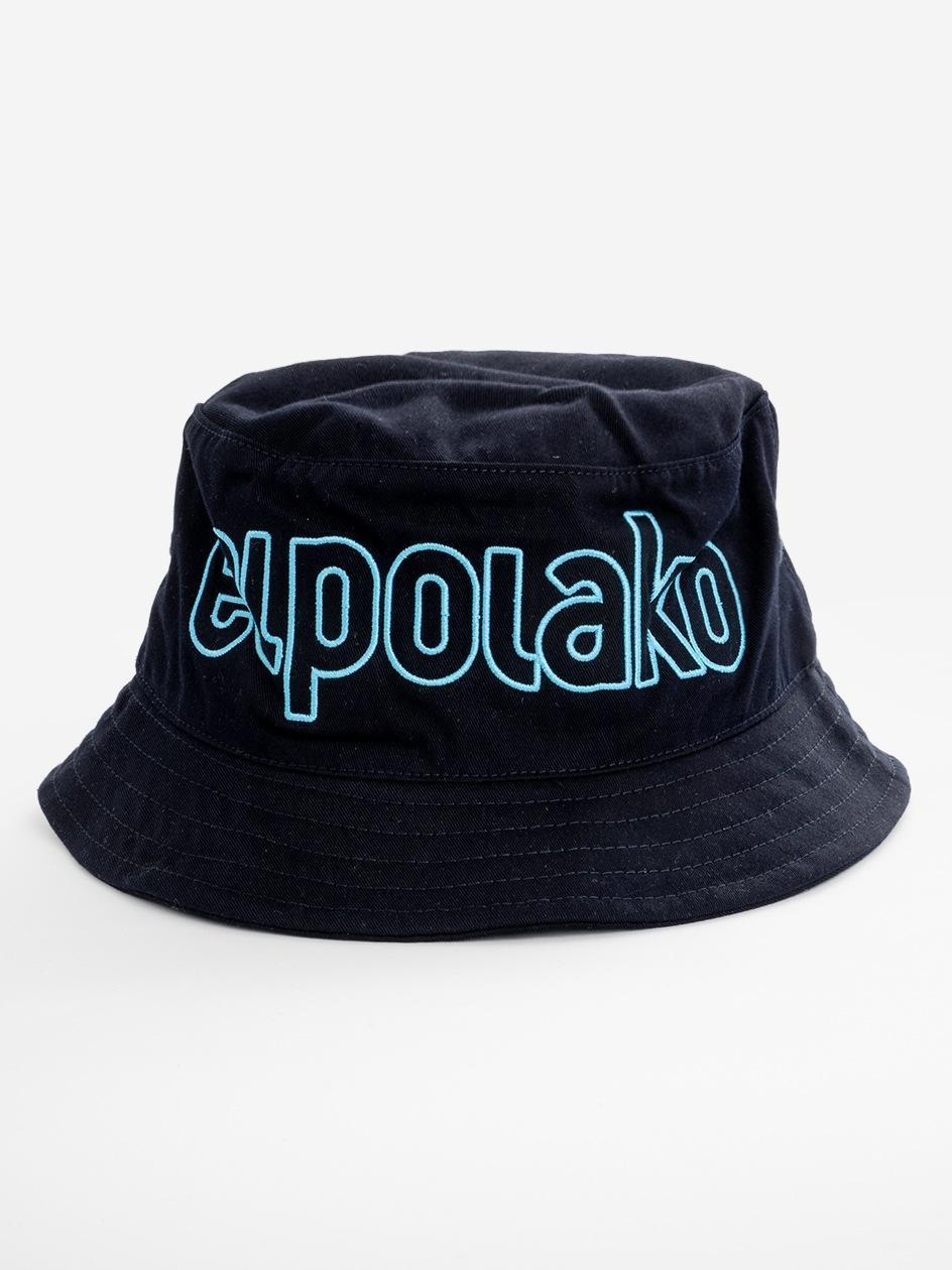 Bucket Hat El Polako Outline Ciemny Niebieski