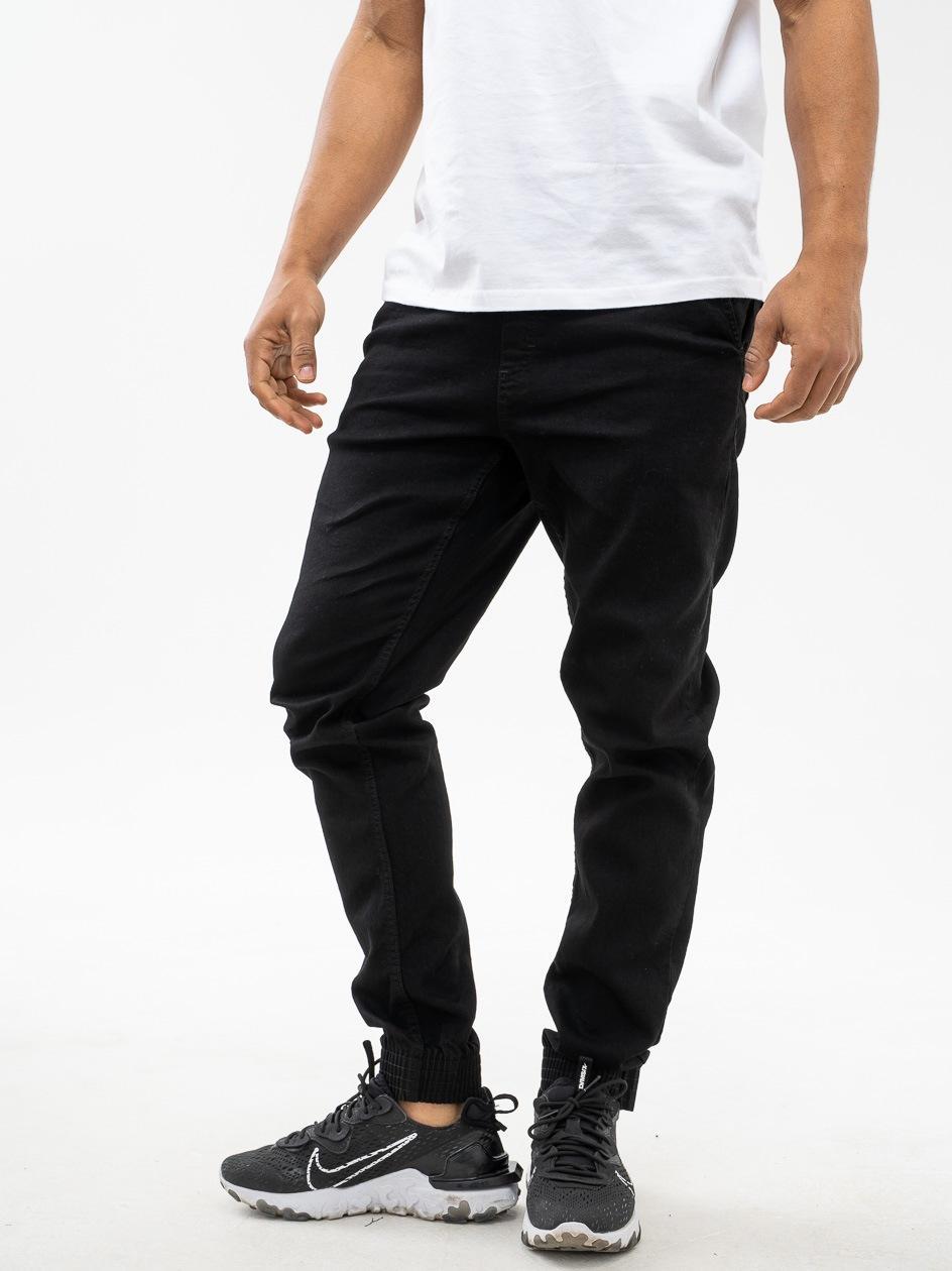 Spodnie Jeansowe Jogger Slim SSG Skin Czarne