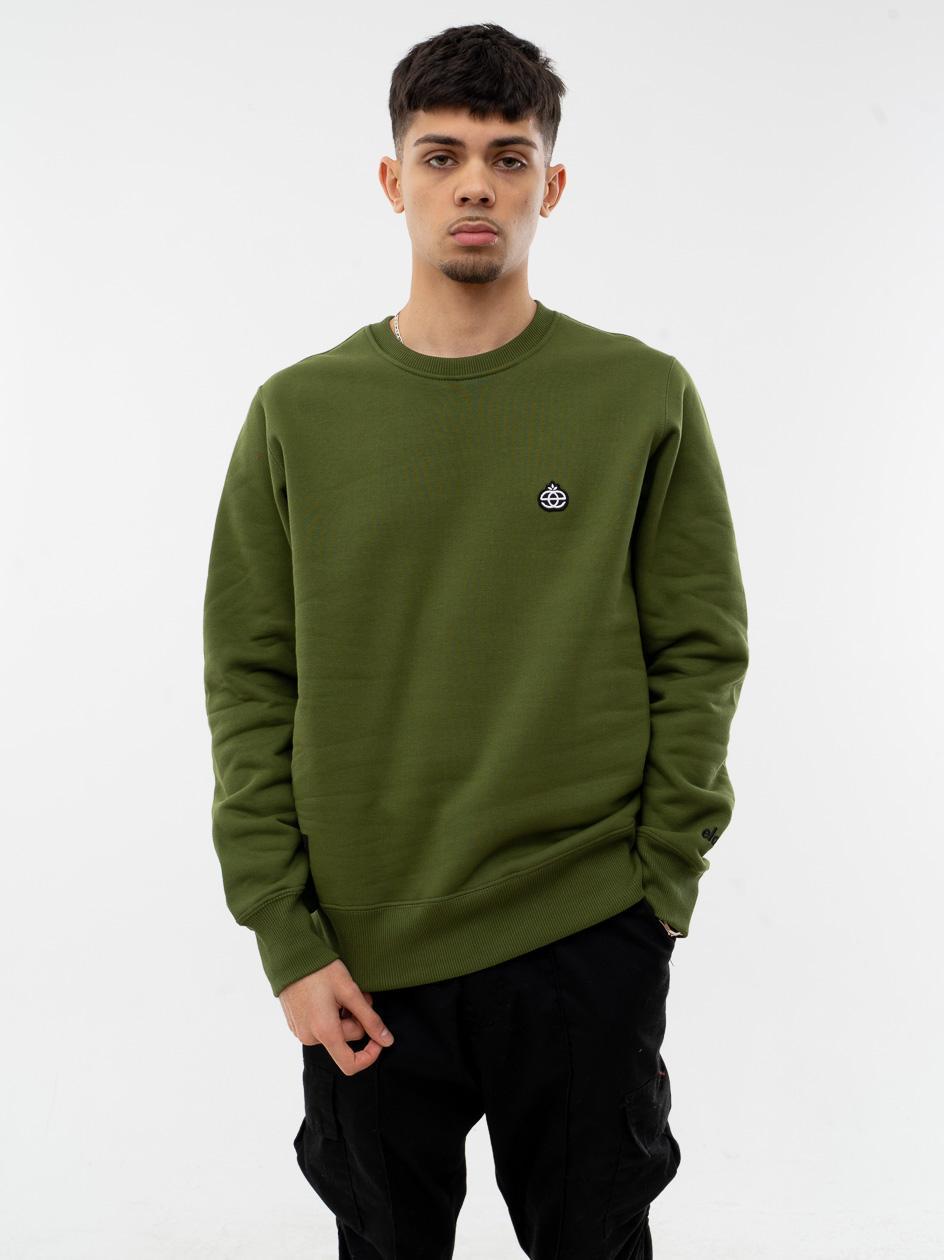 Bluza Bez Kaptura Elade Mini Icon Logo Oliwkowa