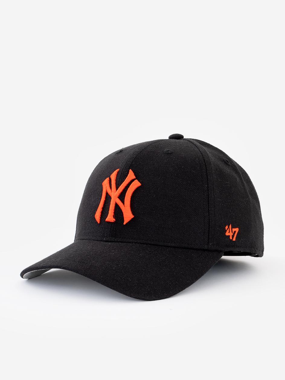 Czapka Z Daszkiem Snapback 47 Brand New York Yankees MVP Czarna / Czerwona