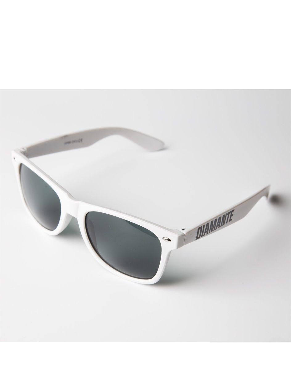 Okulary Przeciwsłoneczne Diamante Wear Diamante 3 Białe