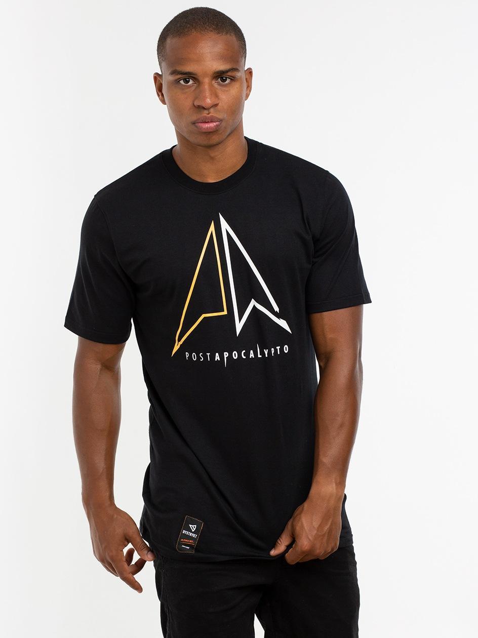 Koszulka Z Krótkim Rękawem Dystrykt PA Czarna