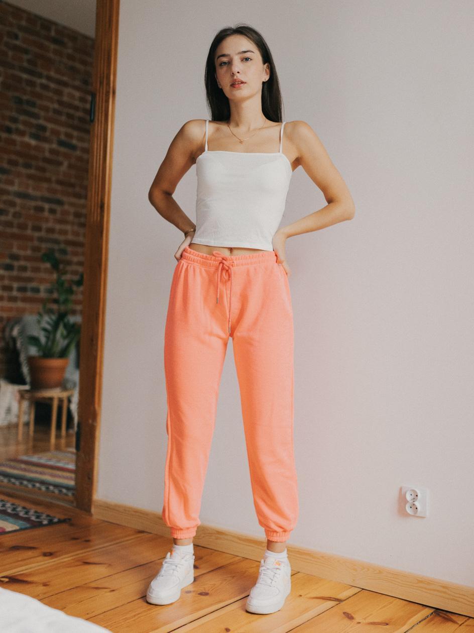 Spodnie Dresowe Point X Basic Różowe