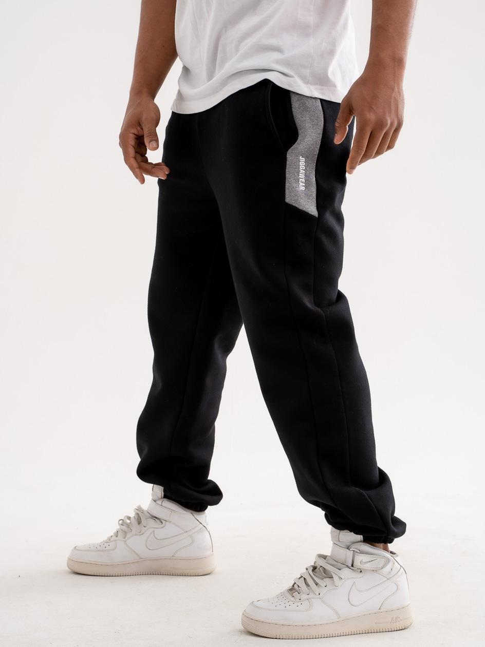 Spodnie Dresowe Jigga Wear Vertical Name Czarne