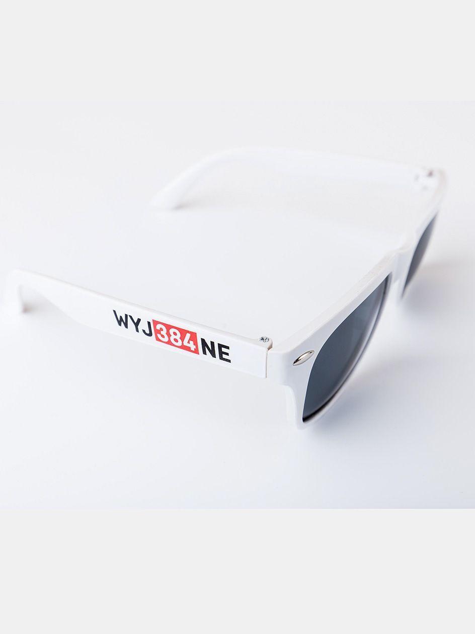 Okulary Przeciwsłoneczne Diamante Wear Wyj384ne Białe / Czerwone