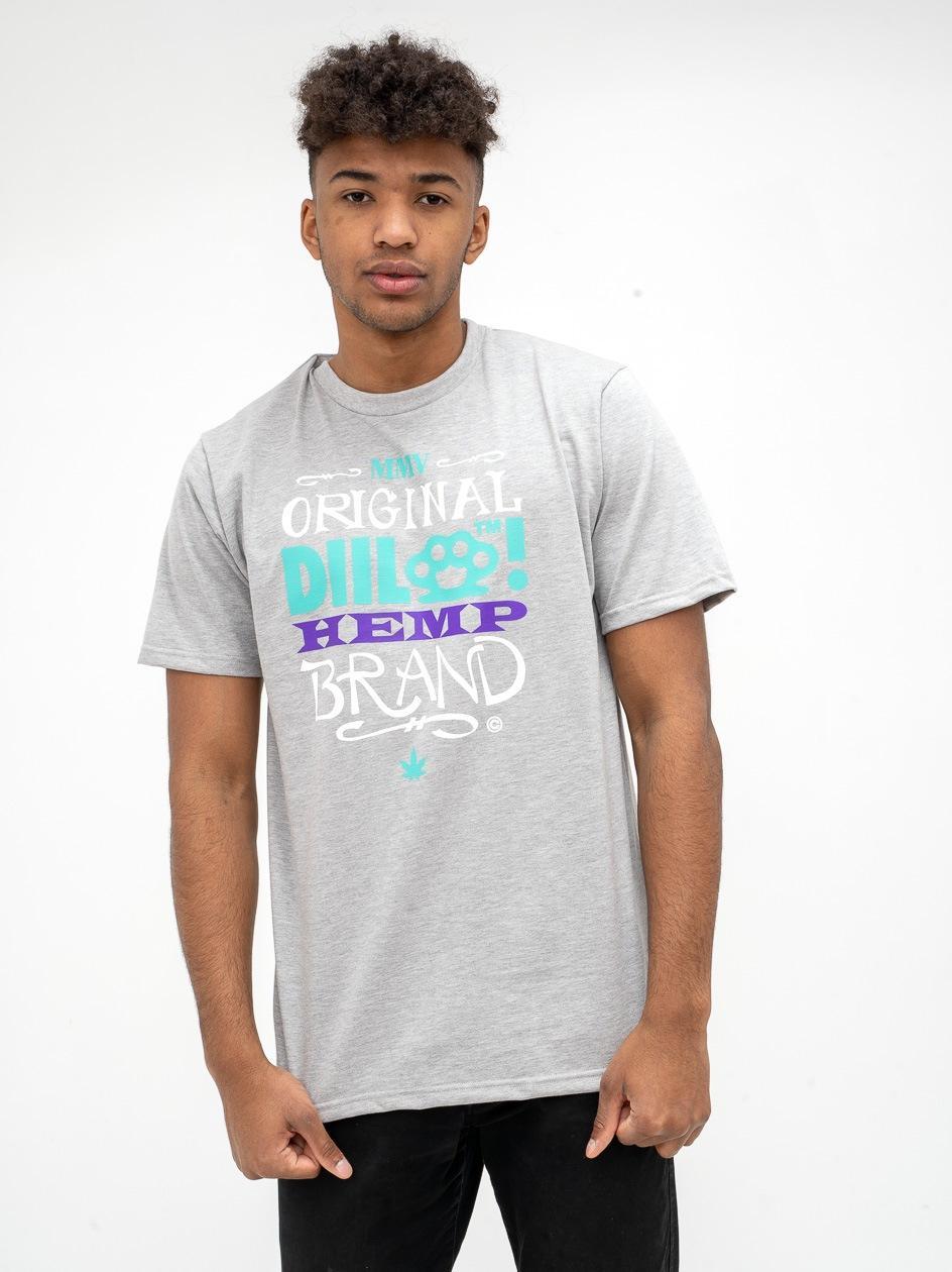 Koszulka Z Krótkim Rękawem DIIL Bone Szara