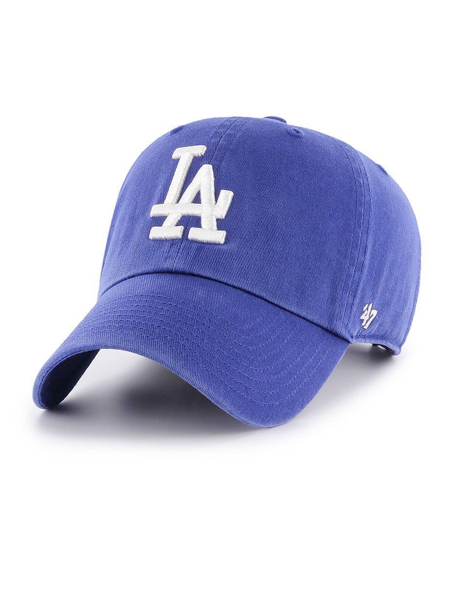 Czapka Z Daszkiem Dad Hat 47 Brand Los Angeles Dodgers MLB Clean Up Niebieska