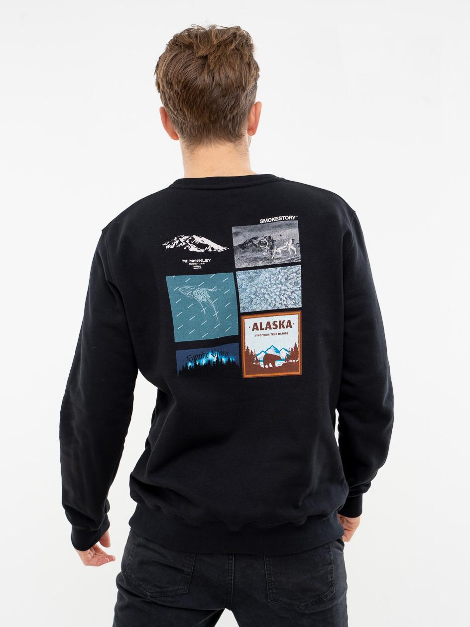 Bluza Bez Kaptura SSG Alaska Czarna