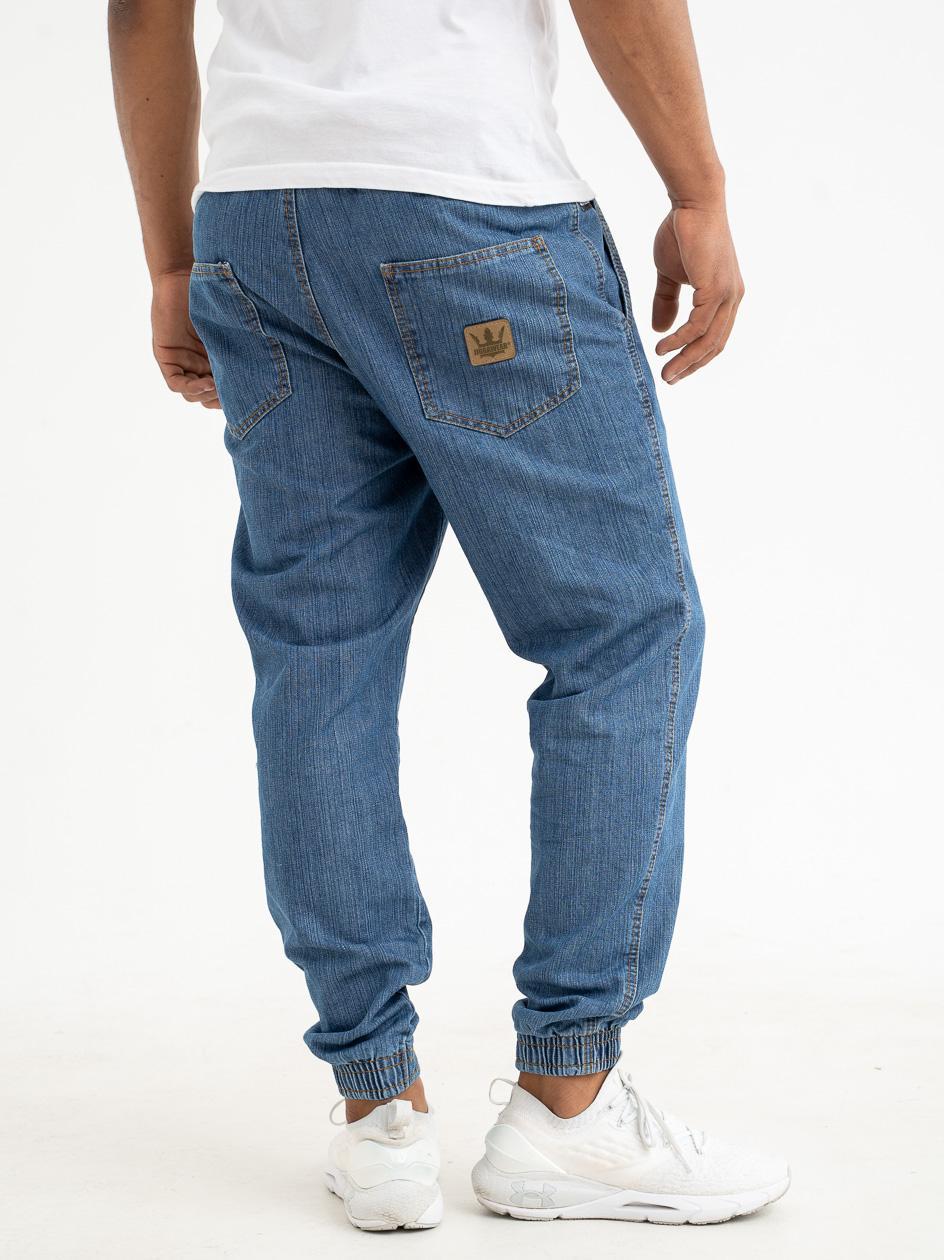 Spodnie Jeansowe Jogger Jigga Tab Niebieskie