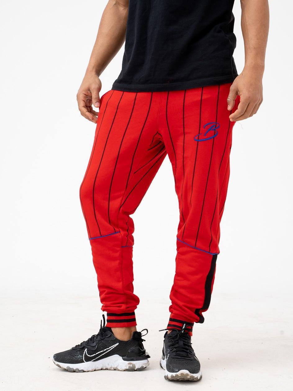 Spodnie Dresowe Breezy B Lines Czerwone