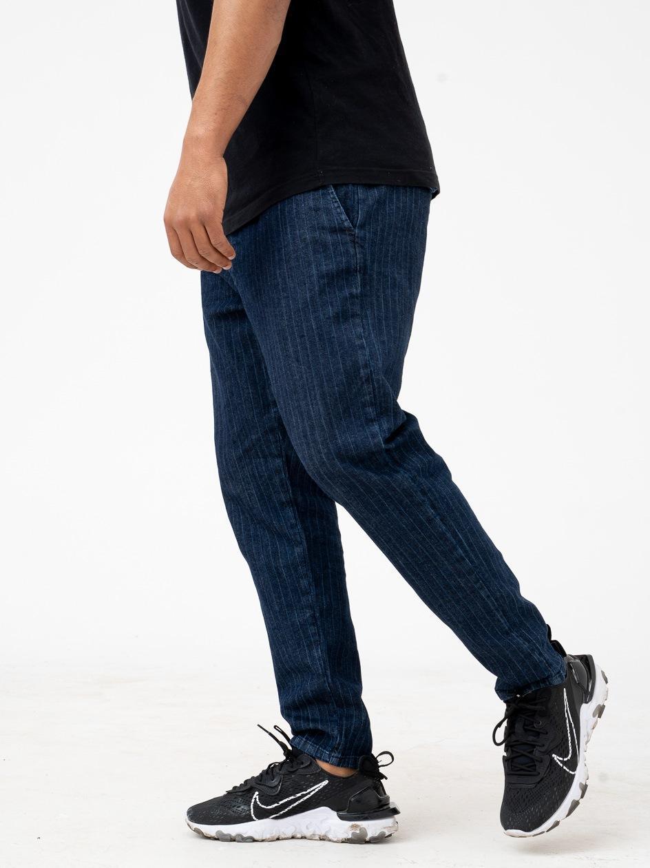 Spodnie Jeansowe Ze Ściągaczem Breezy Jake Granatowe