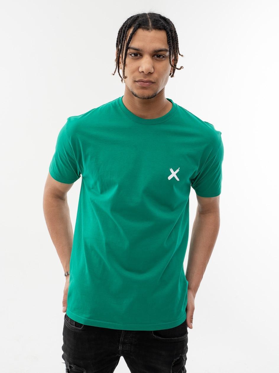 Koszulka Z Krótkim Rękawem Point X Mini X Zielona