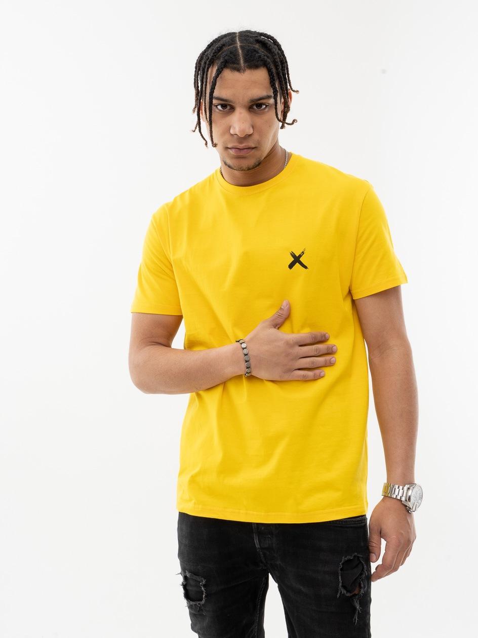 Koszulka Z Krótkim Rękawem Point X Mini X Żółta