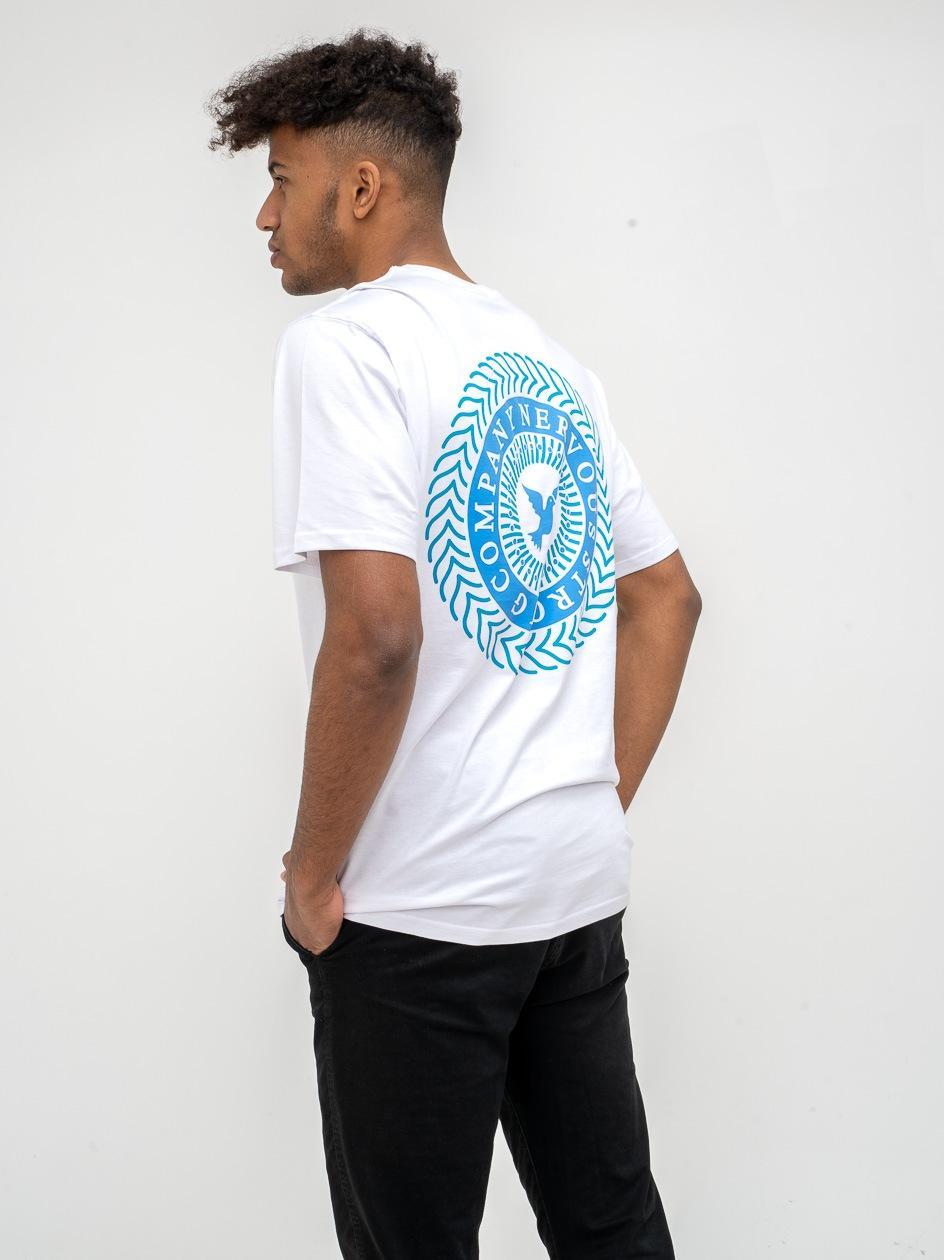 Koszulka Z Krótkim Rękawem Nervous Swirl Biała