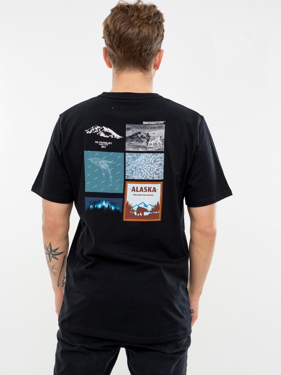 Koszulka Z Krótkim Rękawem SSG Alaska Czarna