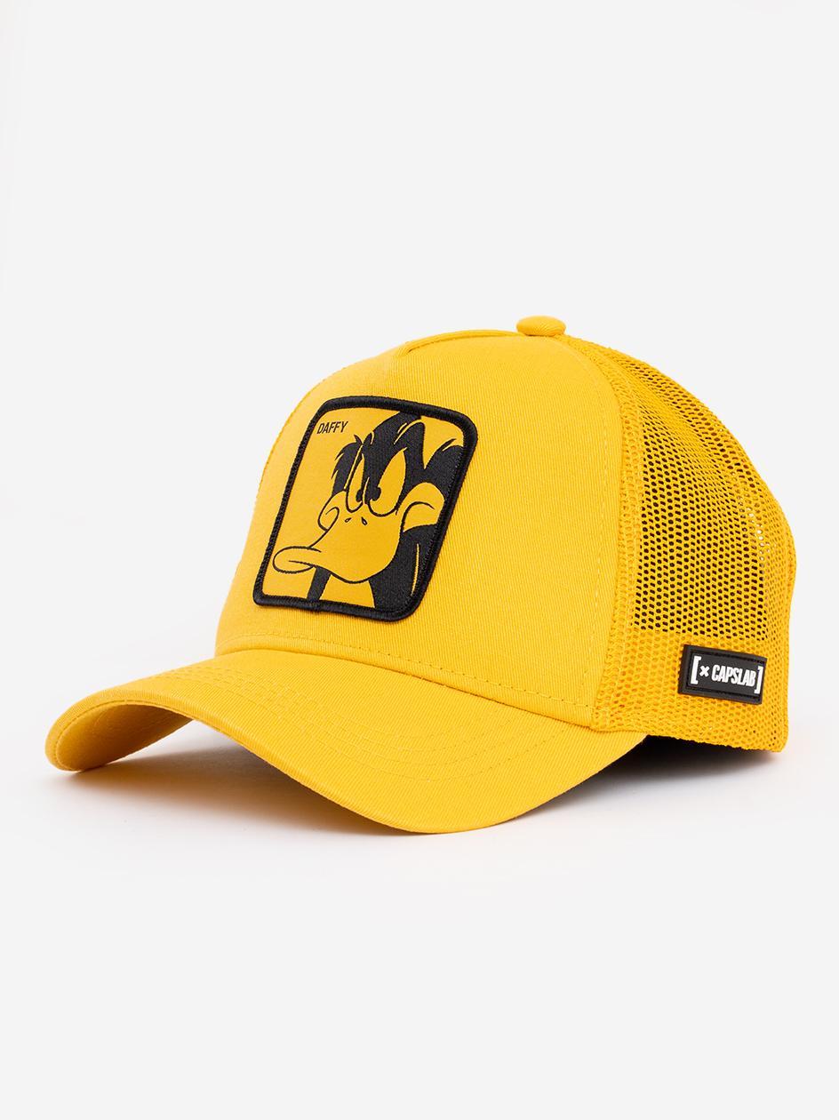 Czapka Z Daszkiem Capslab Looney Tunes Daffy Duck Żółta