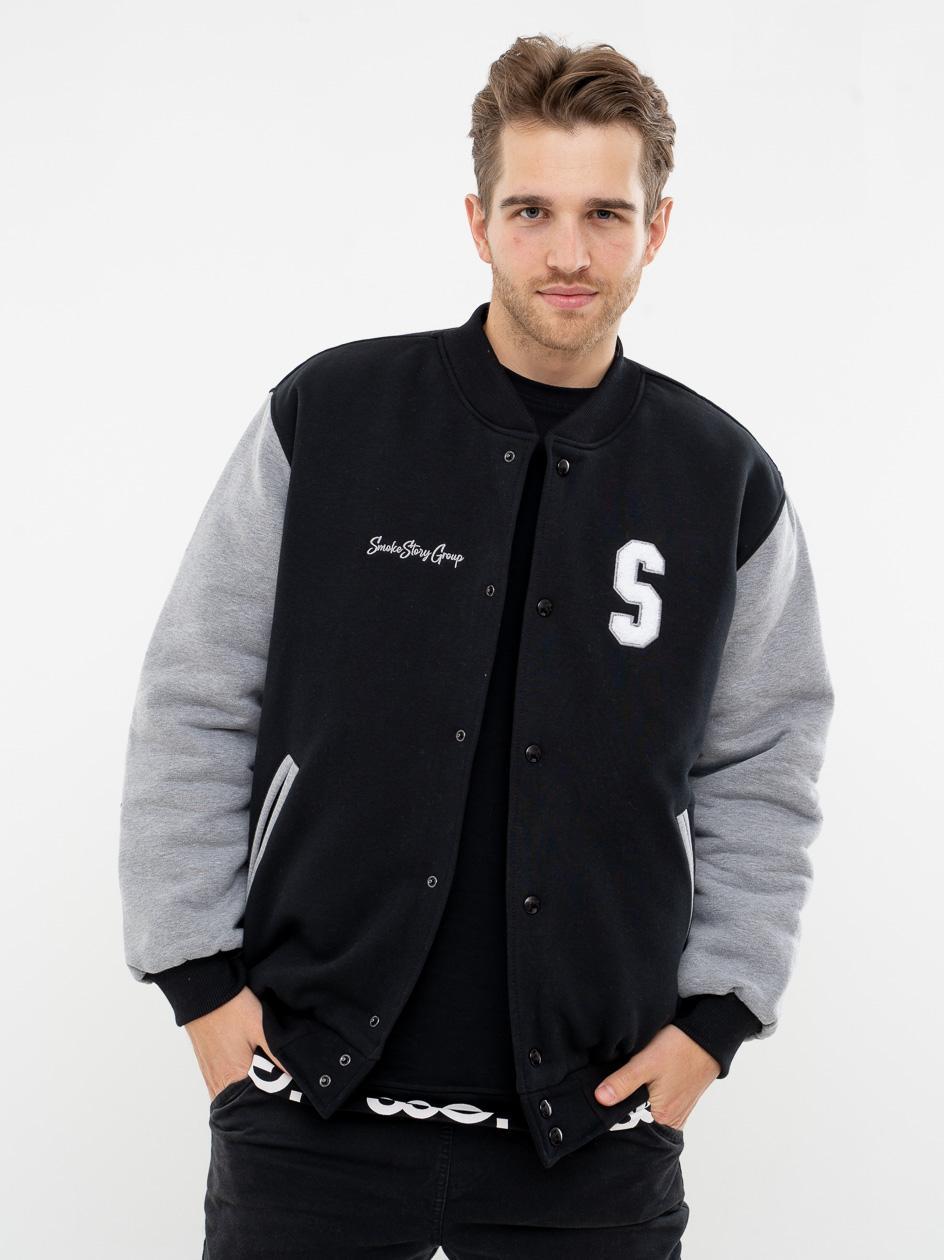 Bluza Bejsbolówka SSG Big S Czarna