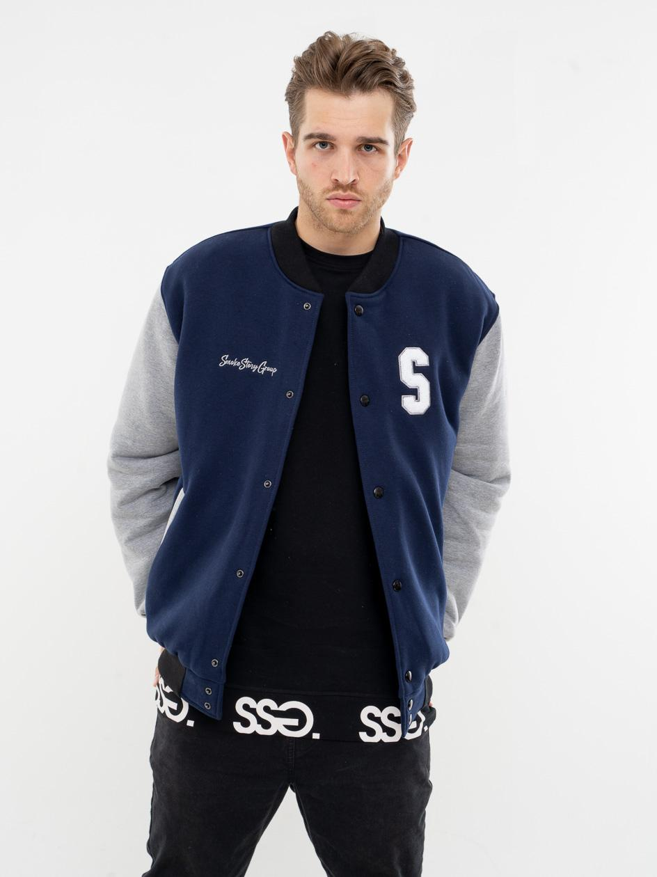 Bluza Bejsbolówka SSG Big S Granatowa