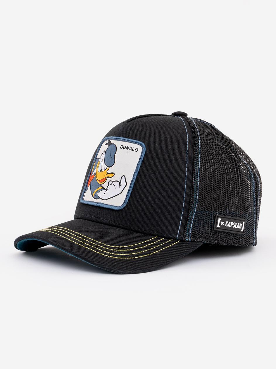 Czapka Z Daszkiem Capslab Looney Tunes Donald Duck Front Czarna