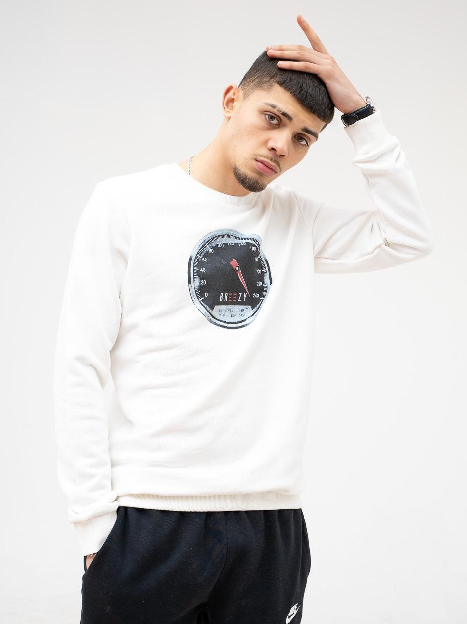 Bluza Bez Kaptura Breezy V-Max Kremowa