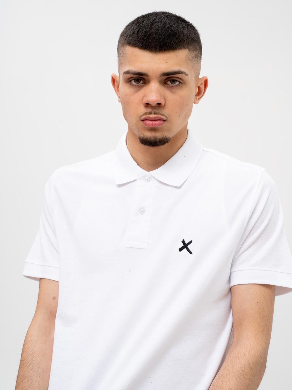 Koszulka Polo Z Krótkim Rękawem Point X Small X Biała