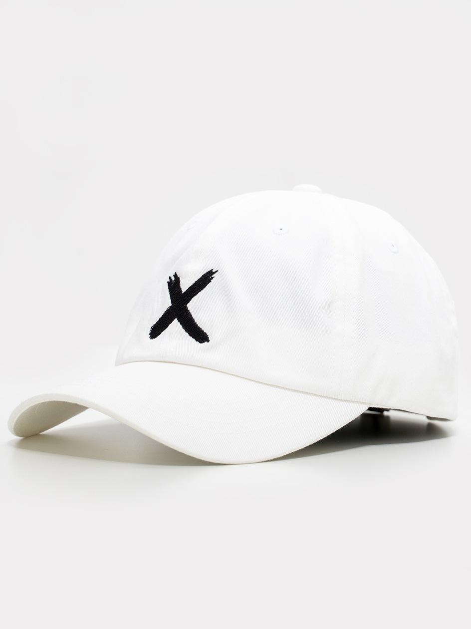 Czapka Z Daszkiem Dad Hat Point X Logo Biała
