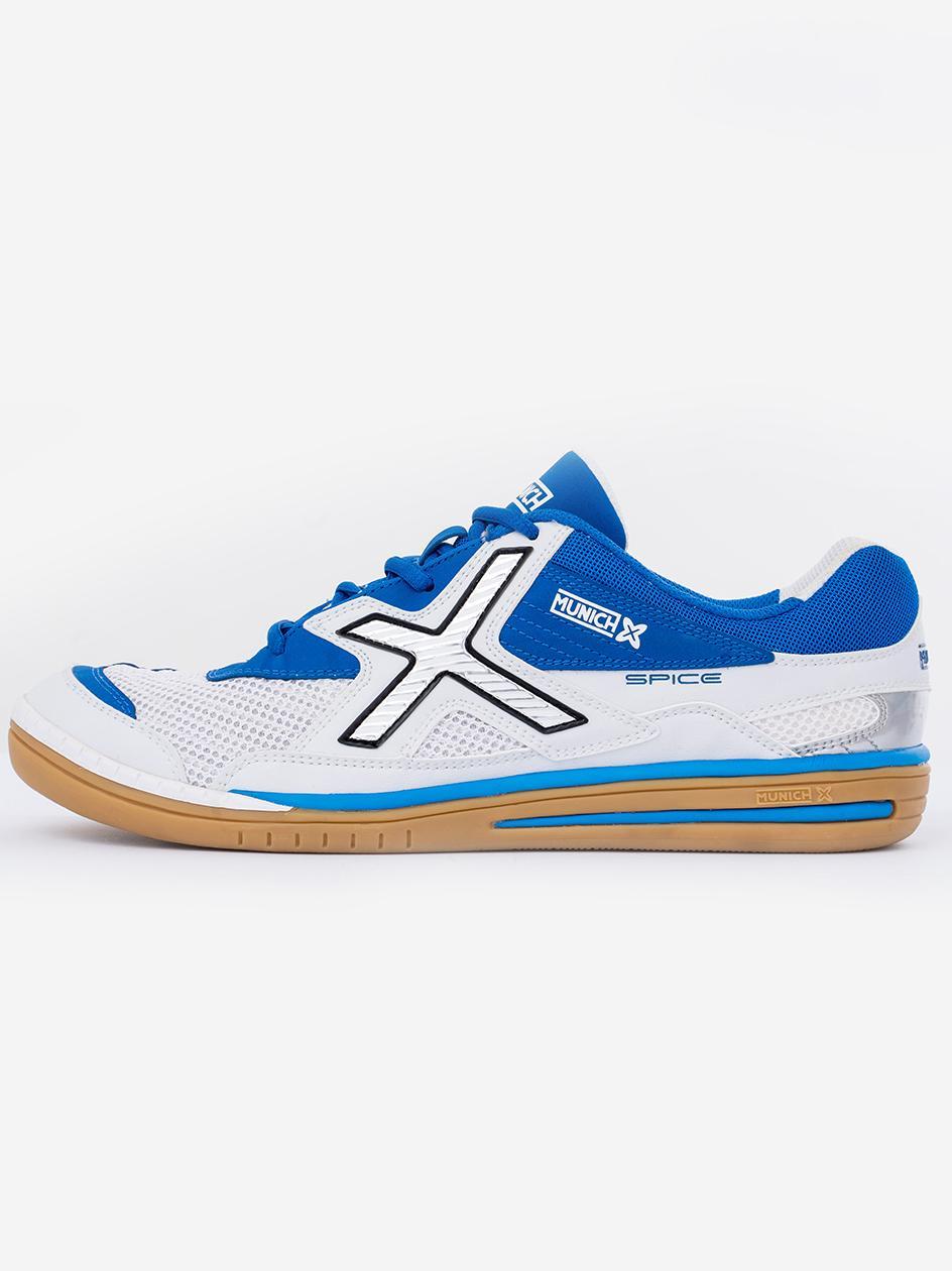 Buty Do Futsalu Munich Spice Niebieskie / Białe