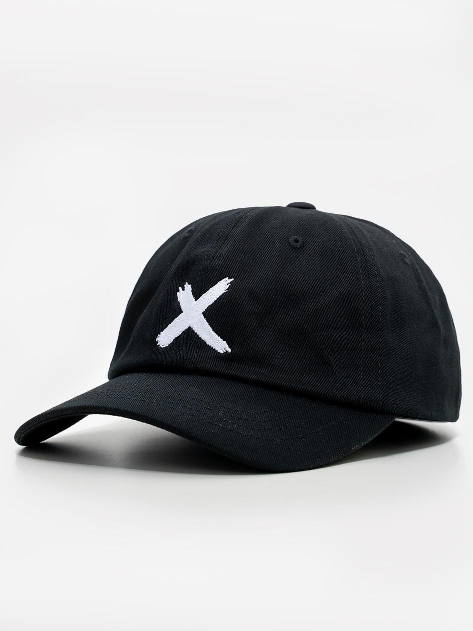 Czapka Z Daszkiem Dad Hat Point X Logo Czarna