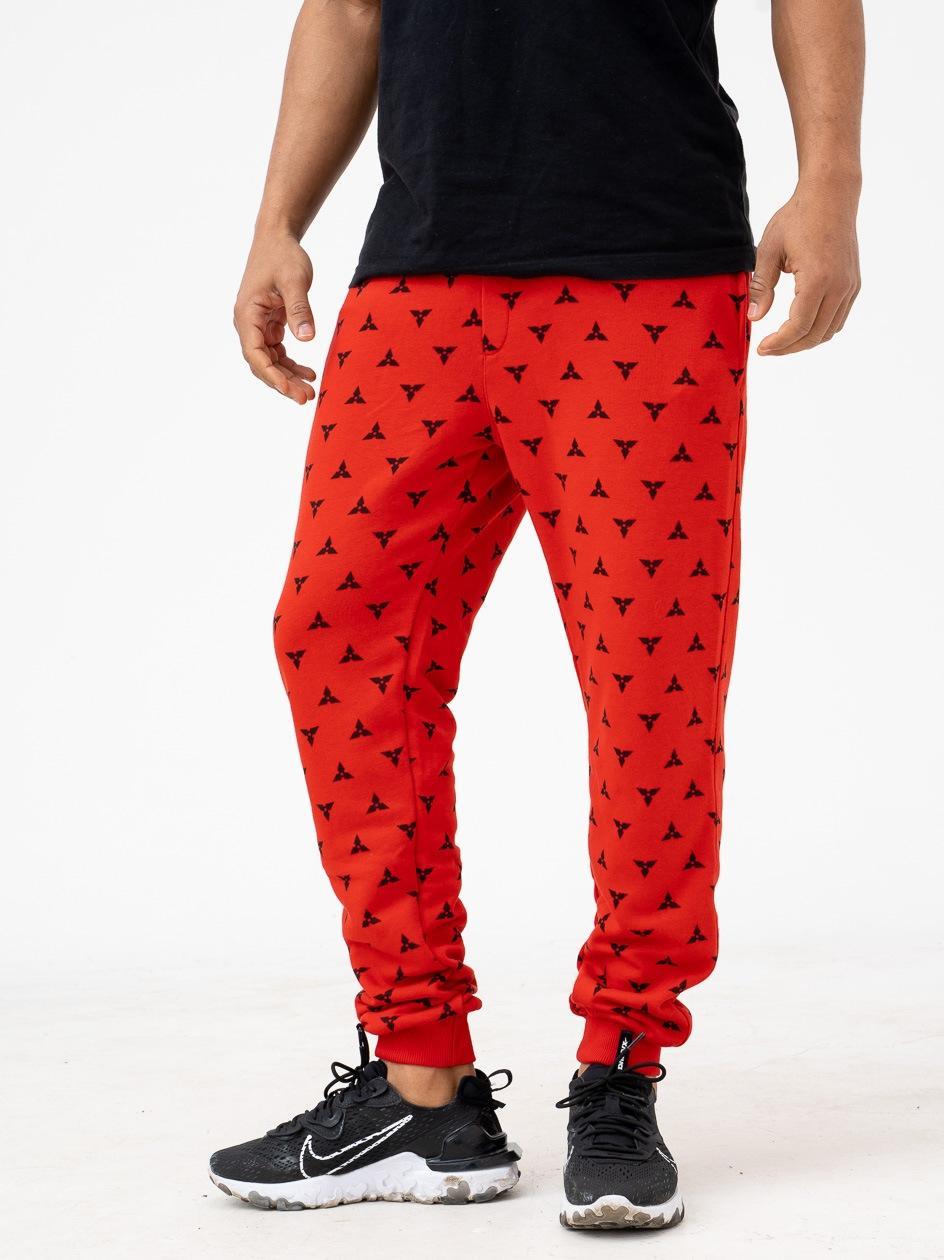 Spodnie Dresowe Breezy Ninja Czerwone