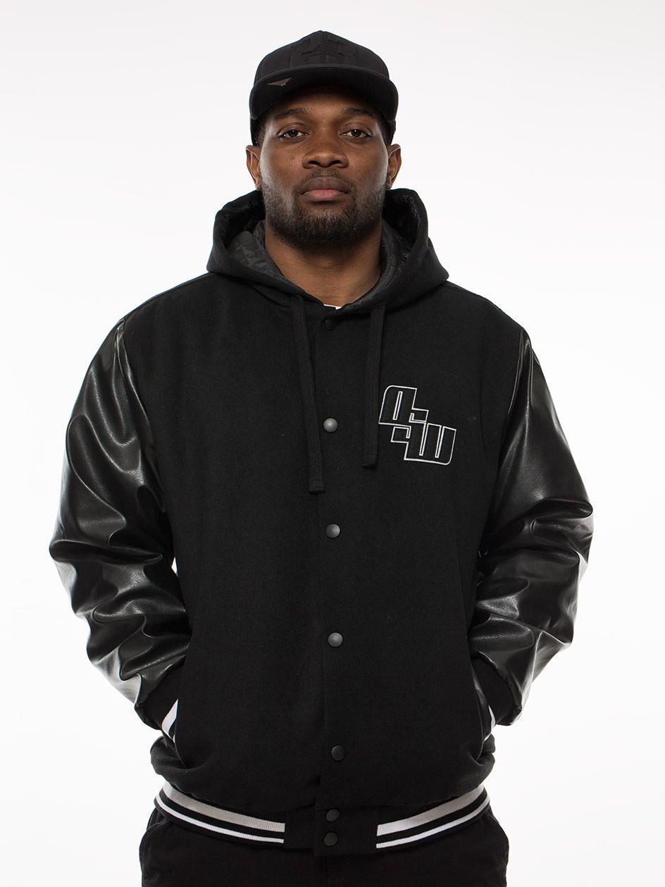 OSW Varsity Hoody Black