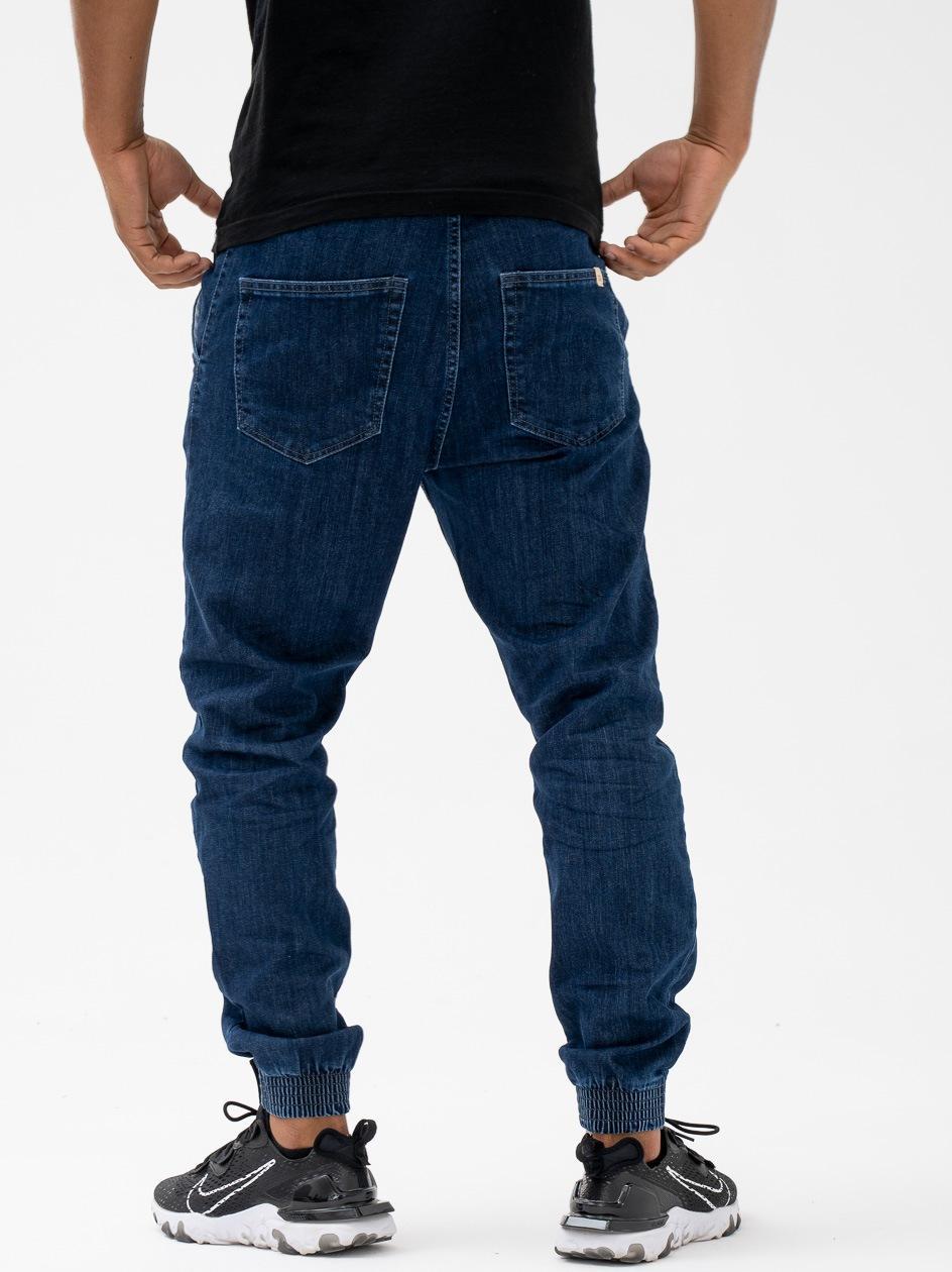 Spodnie Jeansowe Jogger Slim SSG Skin Niebieskie