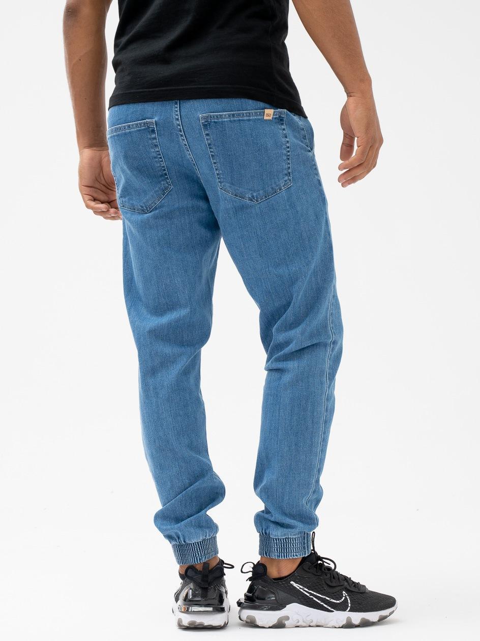 Spodnie Jeansowe Jogger Slim SSG Skin Jasne Niebieskie