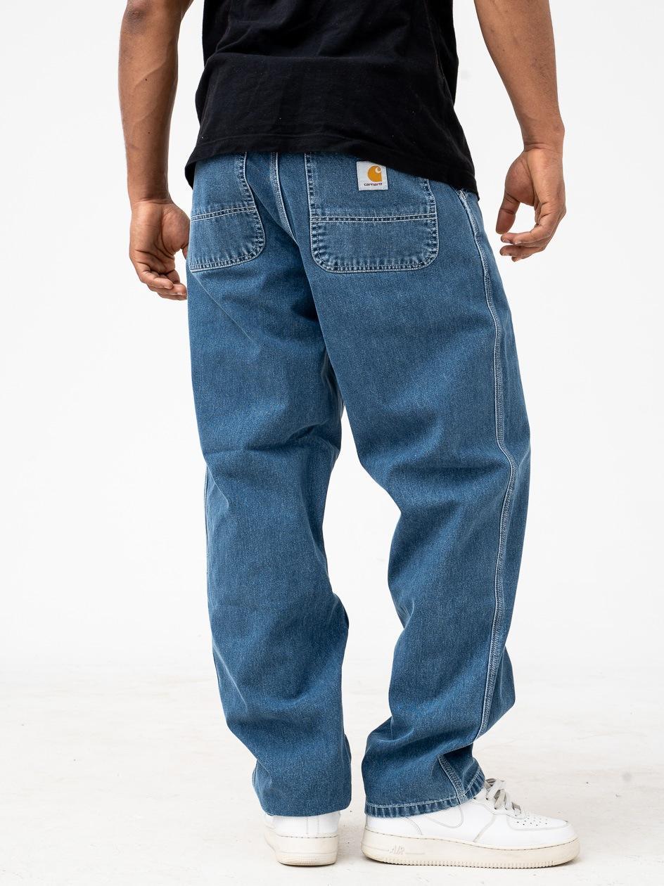 Spodnie Jeansowe Carhartt Simple Norco Cotton Niebieskie