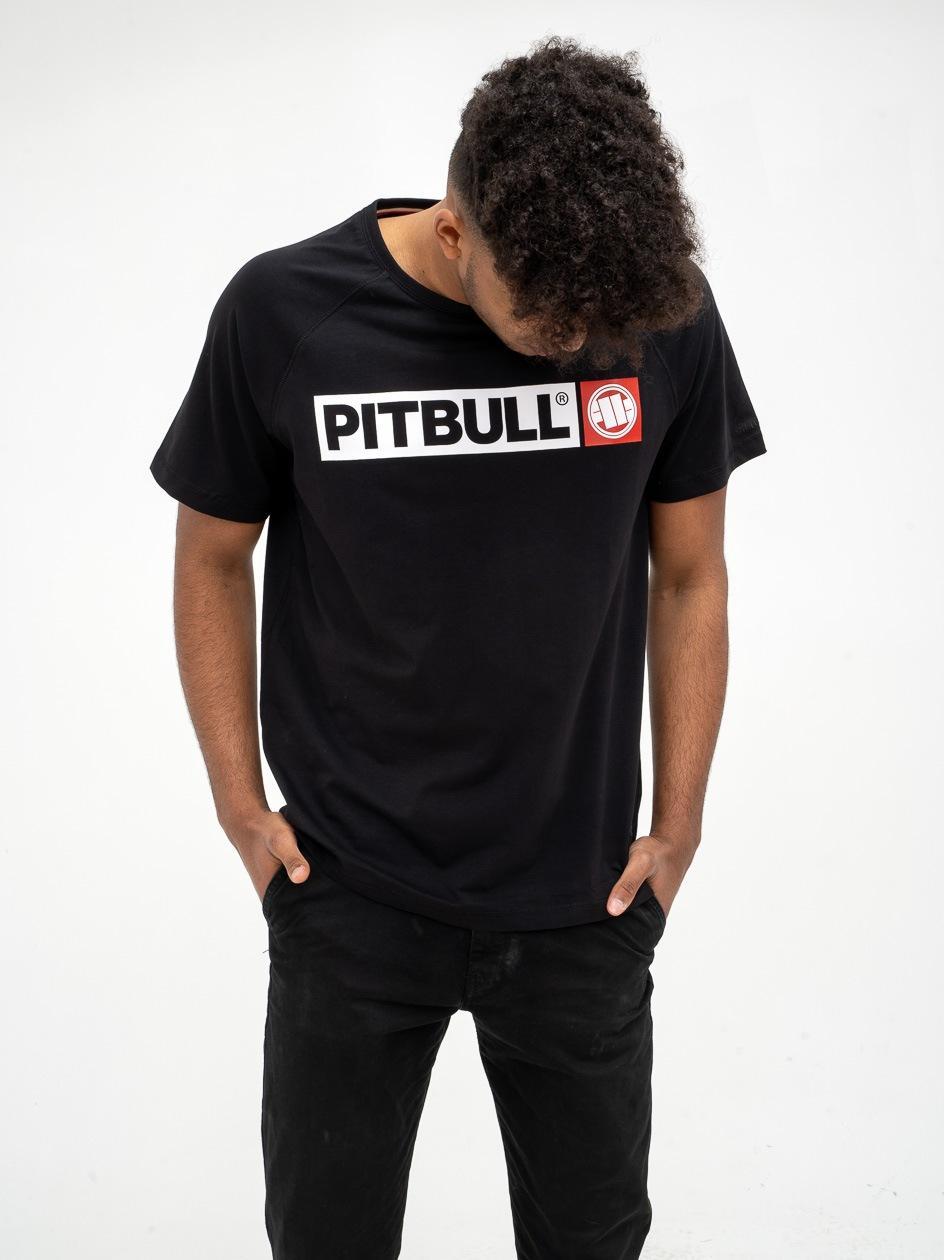 Koszulka Z Krótkim Rękawem Pitbull West Hilltop Czarna