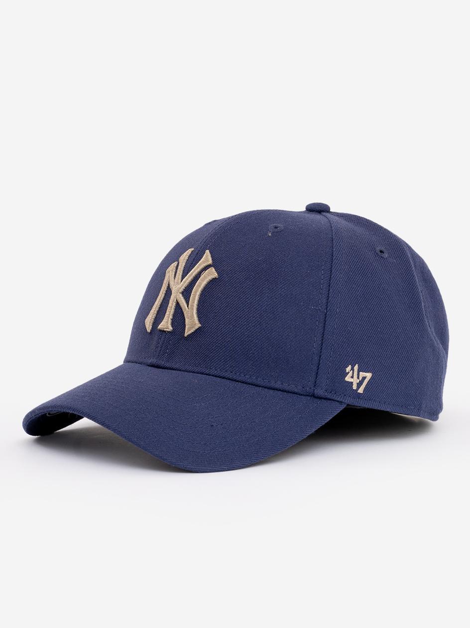 Czapka Z Daszkiem Snapback 47 Brand New York Yankees MVP Jasna Granatowa