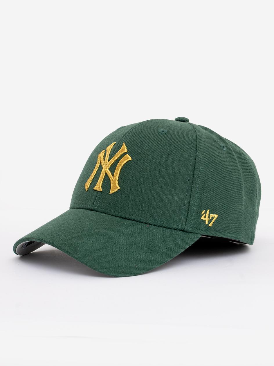 Czapka Z Daszkiem Snapback 47 Brand New York Yankees MVP Metallic Dark Green