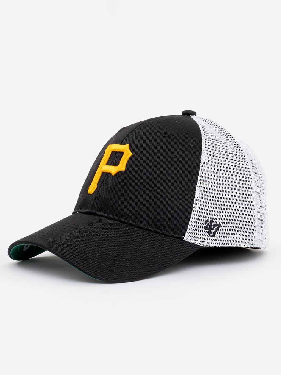 Czapka Z Daszkiem Snapback 47 Brand MLB MVP Pittsburgh Pirates Branson Czarna / Biała