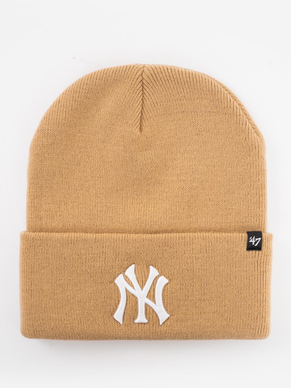 Czapka Zimowa 47 Brand New York Yankess MLB Haymaker '47 Khaki