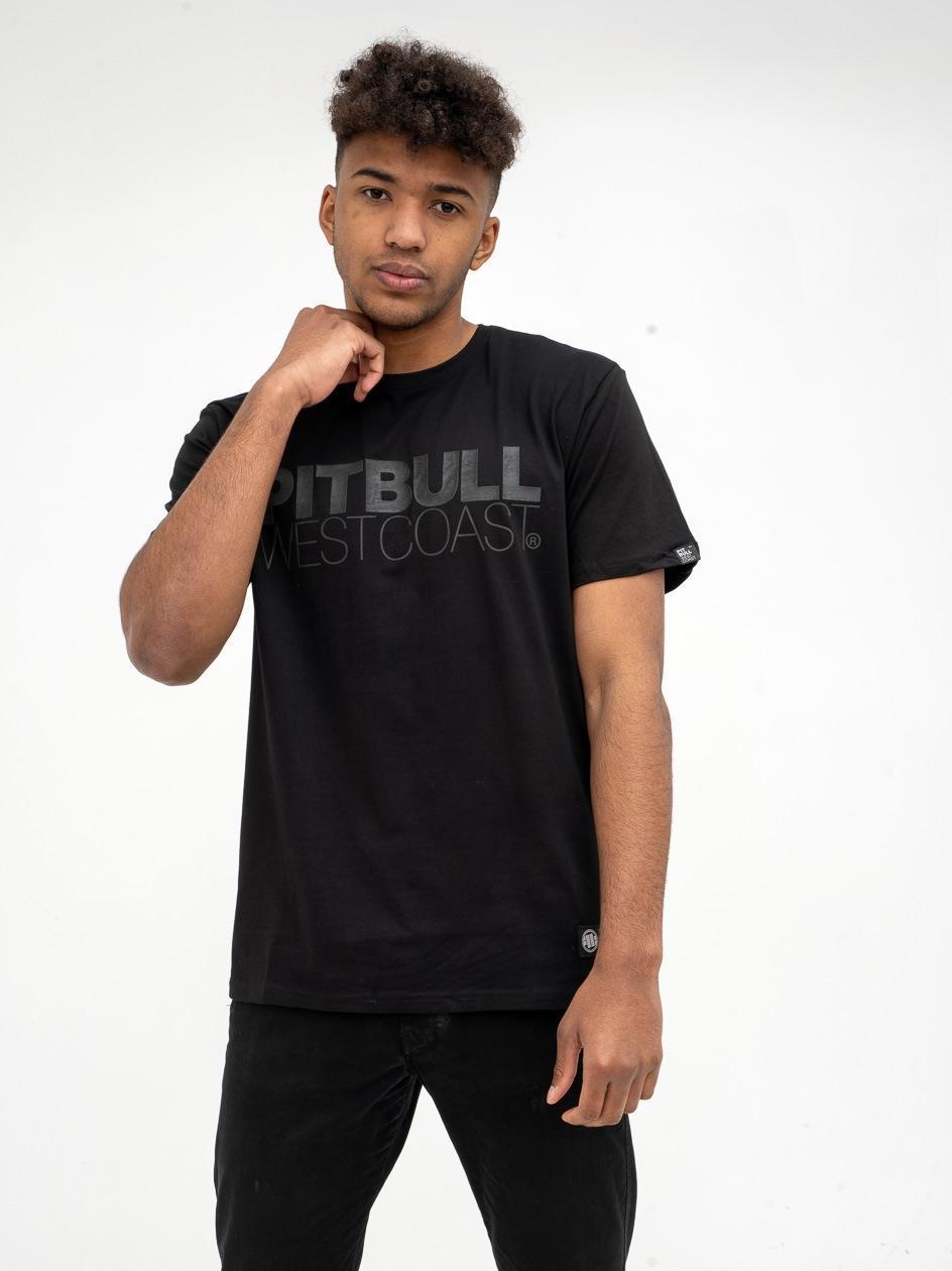 Koszulka Z Krótkim Rękawem Pitbull West Coast Seascape Czarna