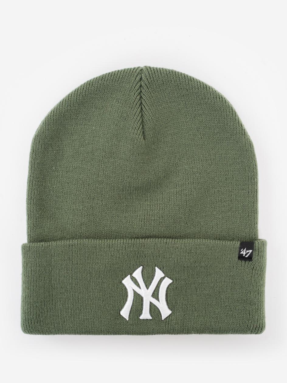 Czapka Zimowa 47 Brand New York Yankess MLB Haymaker '47 Ciemna Zielona