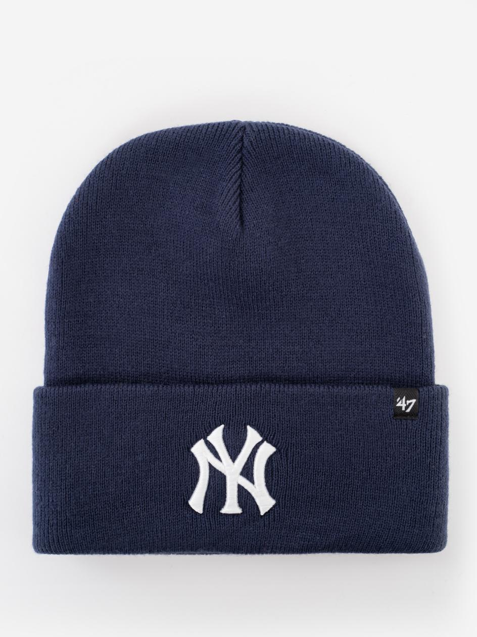 Czapka Zimowa 47 Brand New York Yankess MLB Haymaker '47 Granatowa