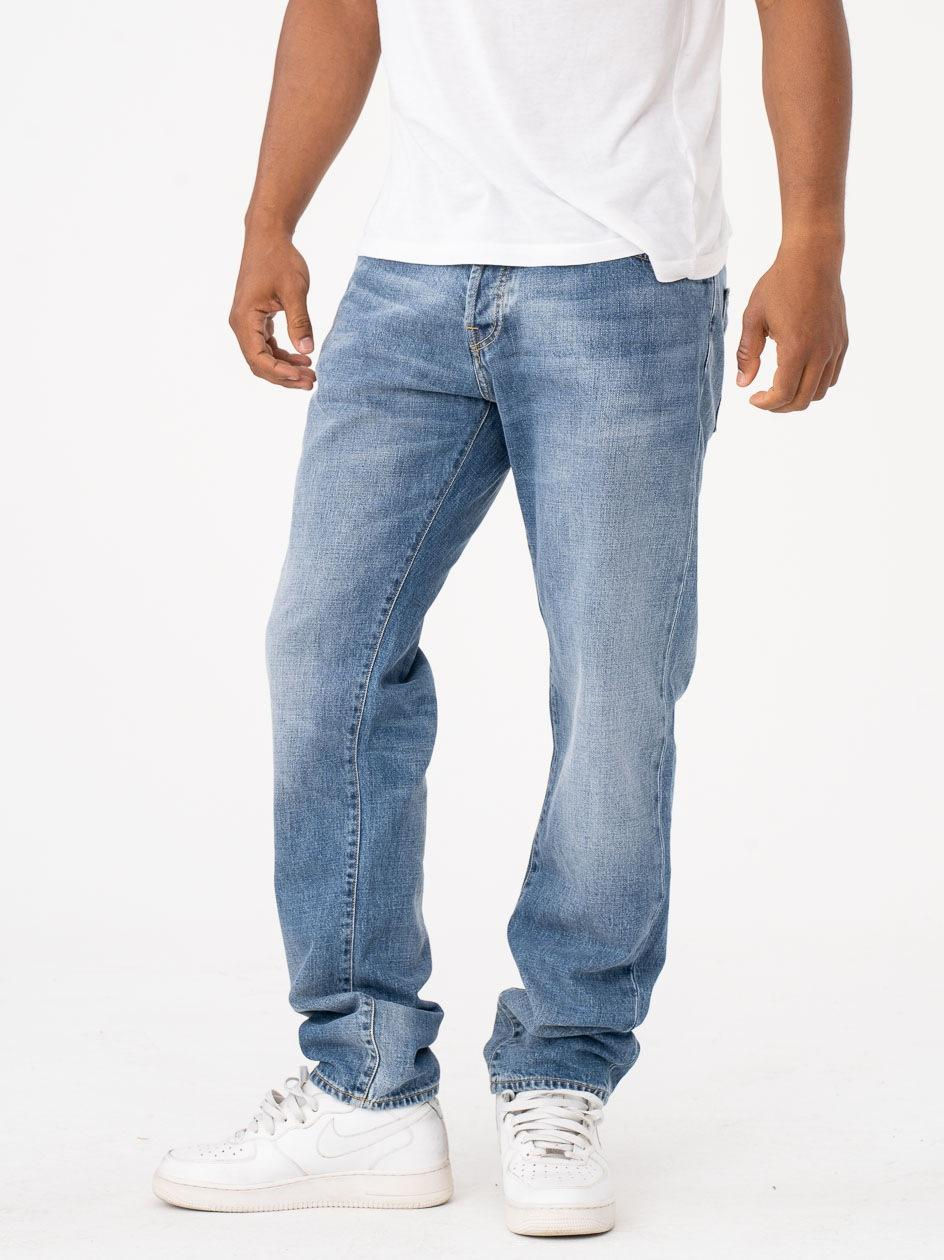 Spodnie Jeansowe Carhartt Klondike Edgewood Cotton Niebieskie