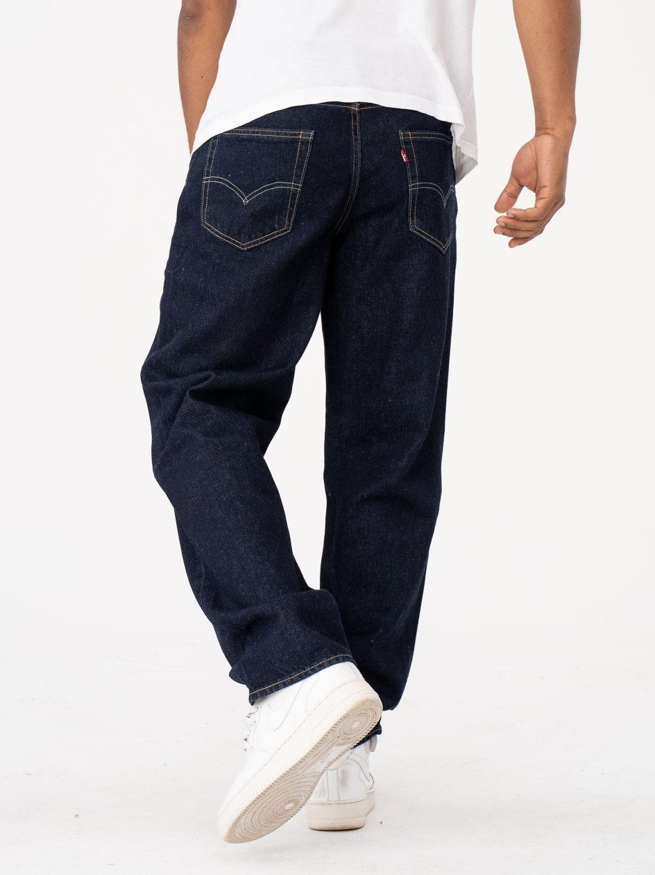 Spodnie Jeansowe Levis Stay Loose Ciemne Niebieskie