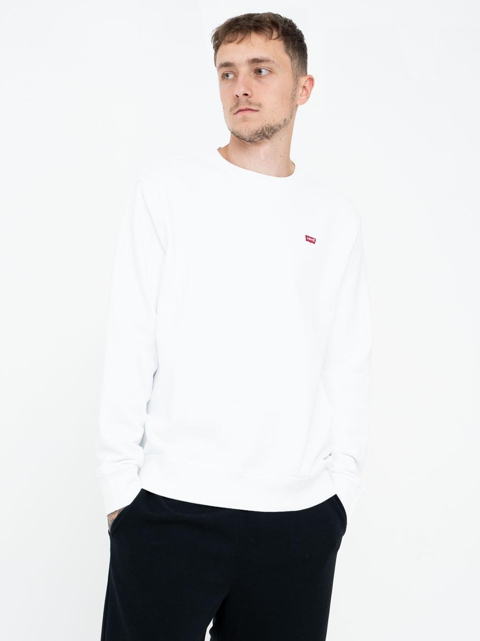 Bluza Bez Kaptura Levis New Orginal Biała