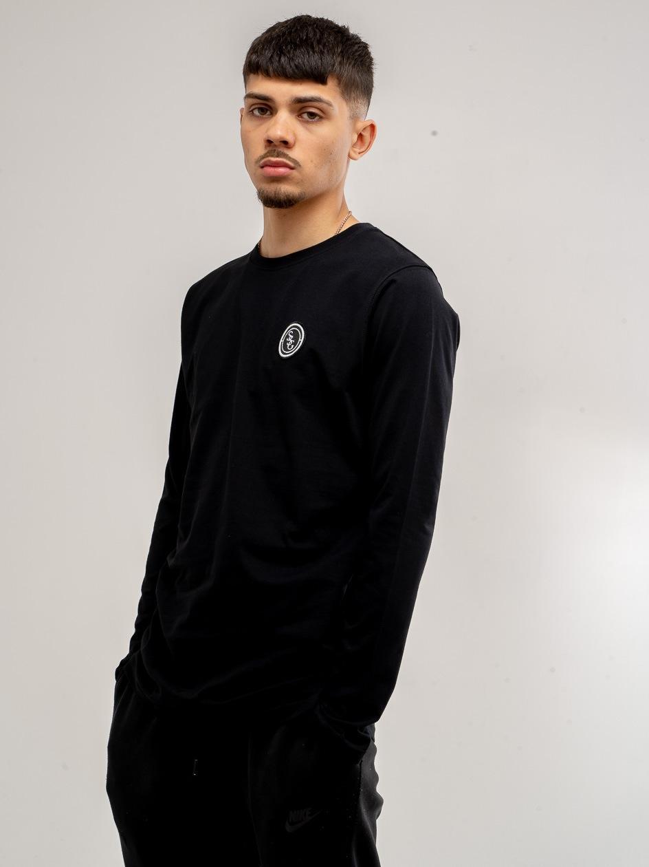 Koszulka Z Długim Rękawem Slim SSG Stripe Czarny